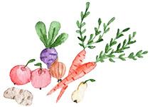 Fagyasztott zöldségek és gyümölcsök